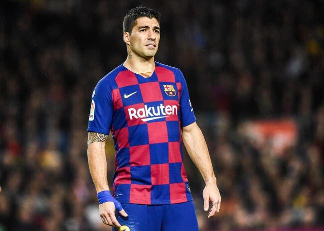 Esp : Barcelone privé de Luis Suarez pendant 4 mois !