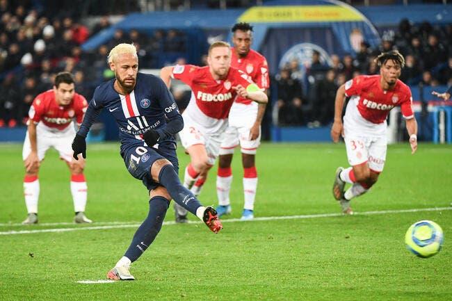 L1 : Neymar a tout fait, mais Monaco accroche le PSG au Parc !