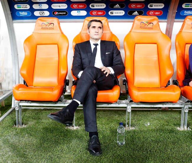 Esp : Ernesto Valverde assure l'entraînement au Barça