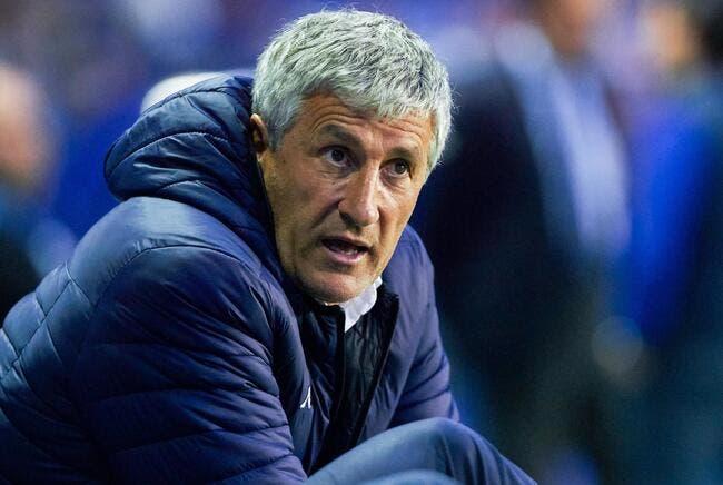 Esp : Quique Setien entraîneur du Barça, ça brûle !