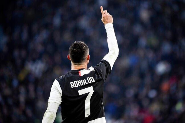 Maurizio Sarri jubile de la forme de Cristiano Ronaldo — Juventus