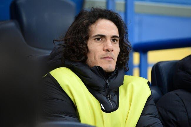 PSG : Cavani se blesse à l'entrainement et manque Monaco