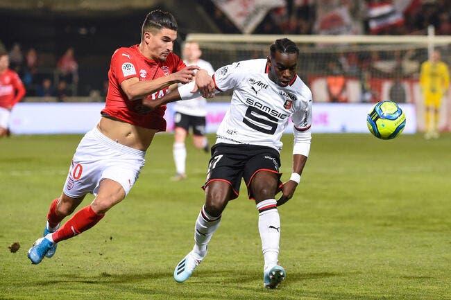 Nîmes - Rennes : 0-1