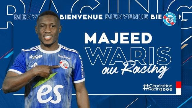Majeed Waris ne s'est toujours pas engagé pour Strasbourg — Transferts