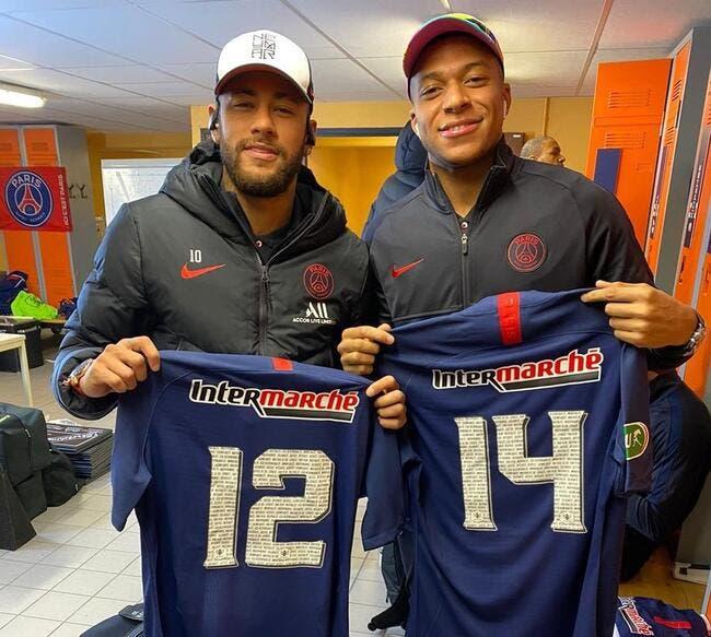 PSG : Remplaçants à Lorient, Mbappé et Neymar s'amusent bien