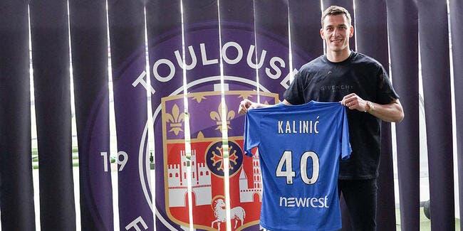 Le Toulouse FC recrute Kalinic