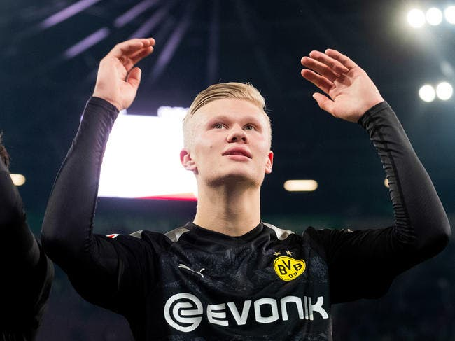 Dortmund : Haaland rentre et marque un doublé, le PSG peut trembler