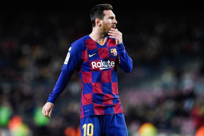 Esp : Pas touche à Messi, la consigne spéciale de Barcelone