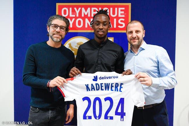 Officiel: L'OL annonce la signature de Kadewere