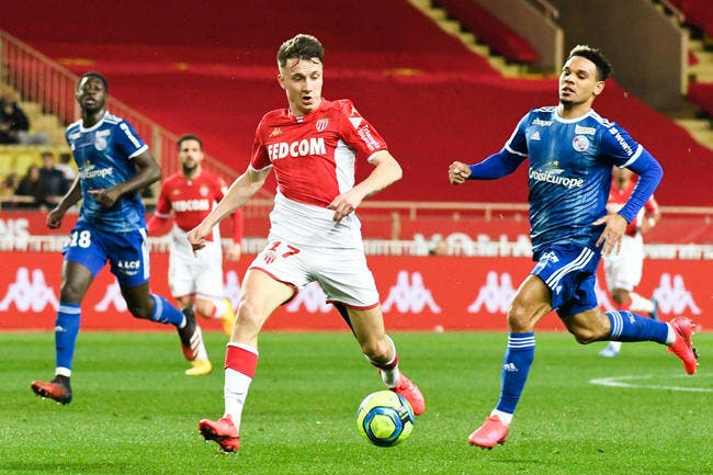 Monaco - Strasbourg : 1-3