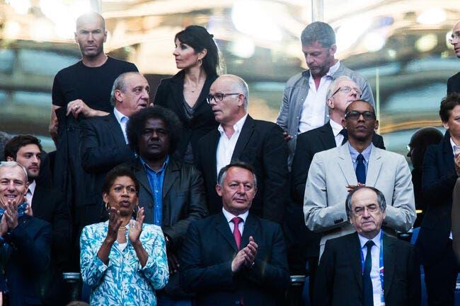 EdF : Dragué par Le Graët, Zidane lui met un vent