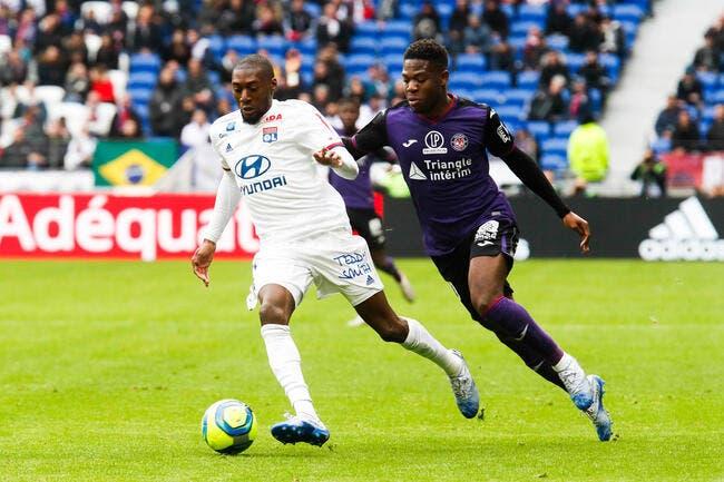 L1 : Sans forcer, l'OL inflige un 3-0 à Toulouse