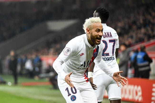 PSG : Un doublé et un hommage à Bryant, c'était le soir de Neymar