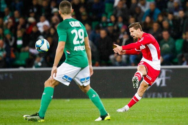 AS Monaco - AS Saint-Etienne : les compos (20h55 sur Eurosport 2)