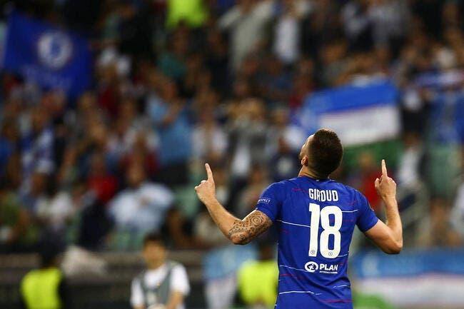 Mercato : C'est très chaud pour Olivier Giroud à la Lazio !
