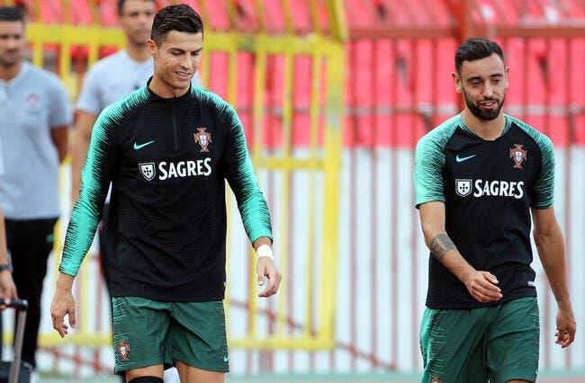 Ang: Cristiano Ronaldo sollicité par MU, Bruno Fernandes raconte