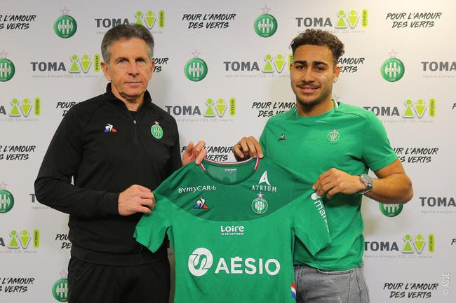 Officiel: Yvann Maçon signe à Saint-Etienne