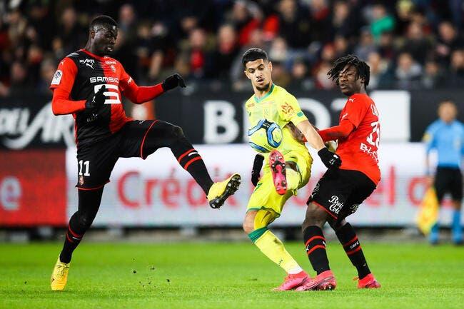 L1 : Incroyable, Rennes renverse Nantes à la 98e minute !