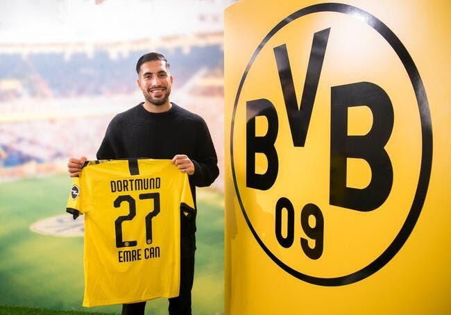 Mercato : Avant le PSG, Dortmund se renforce avec Emre Can