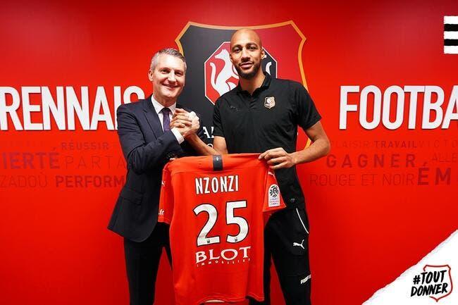 Officiel : Nzonzi signe au Stade Rennais