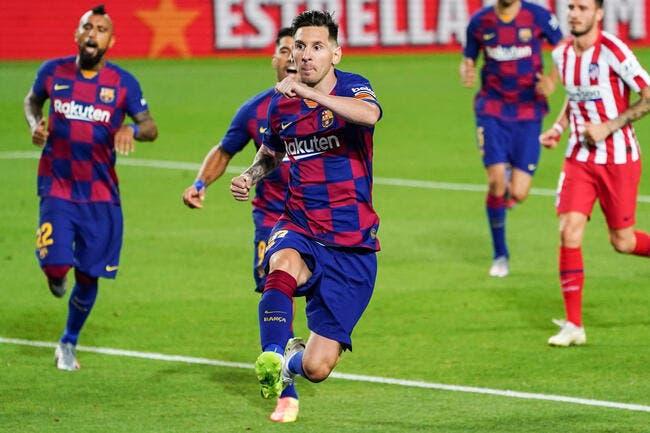 Esp : Messi en colère, Barcelone fait la sourde oreille