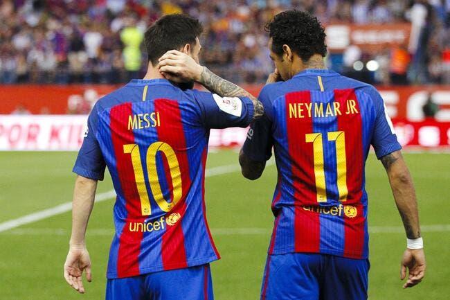 PSG : Neymar n'est rien comparé à Messi, Tebas fait mouche