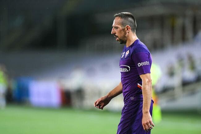 Ita : Ribéry ne quittera pas la Fiorentina après son braquage