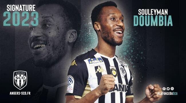 SCO : Doumbia quitte définitivement Rennes pour Angers