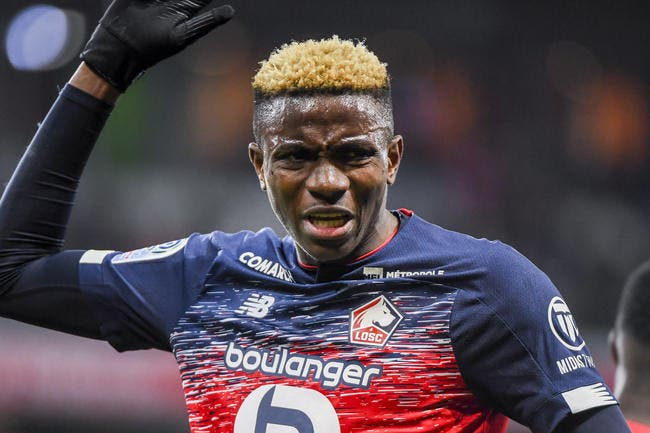 LOSC : Victor Osimhen, l'incroyable ultimatum de Naples !
