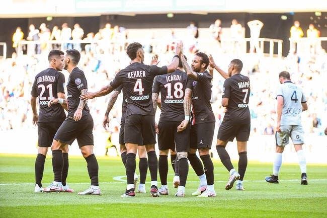 Le PSG explose Le Havre, l'incroyable score