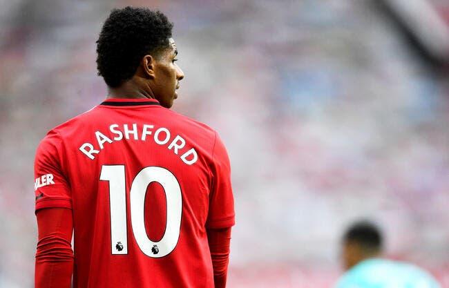Mercato : le PSG intéressé par Marcus Rashford