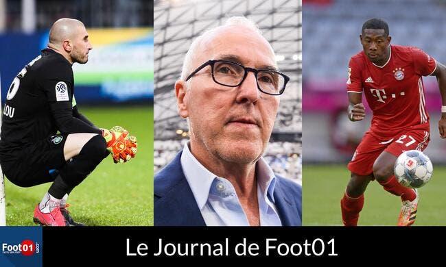 Foot01 News : MCCOURT agacé, le PSG sur ALABA et HERNANDEZ, RUFFIER mis à pied