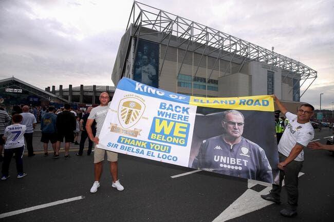 Ang : Leeds et Bielsa champions de D2 toujours sans jouer