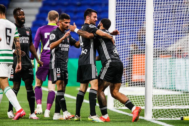 OL : Lyon repart du bon pied contre le Celtic