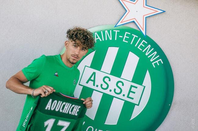 Officiel : Adil Aouchiche à l'AS Saint-Etienne jusqu'en 2023 !