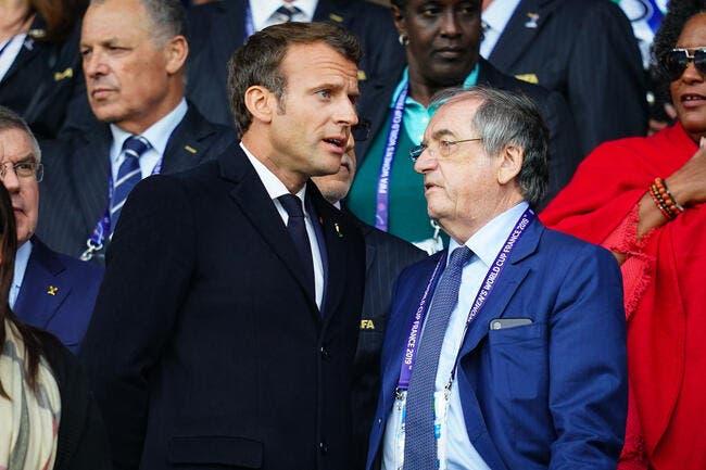 CdF : Macron sur le terrain, Neymar ne mettra pas de giffle