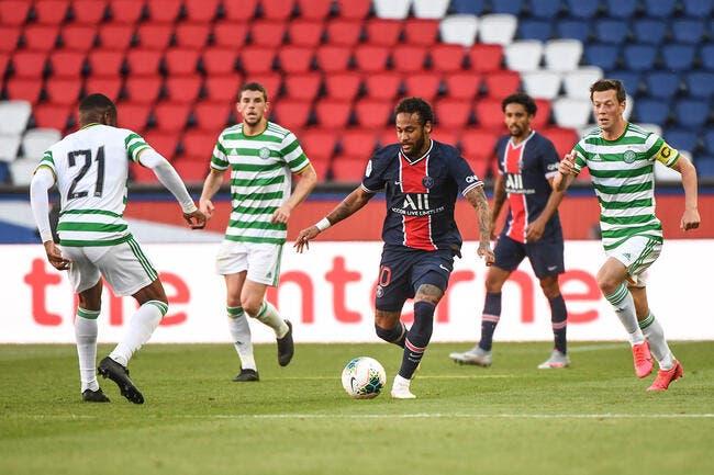 PSG : 4-0 face au Celtic, dernier galop réussi pour Paris