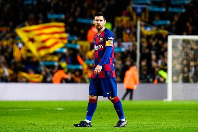 Esp: Le Ballon d'Or lui était promis, Messi s'est fait voler
