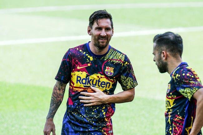 Ita : Lionel Messi à l'Inter, la blague est finie