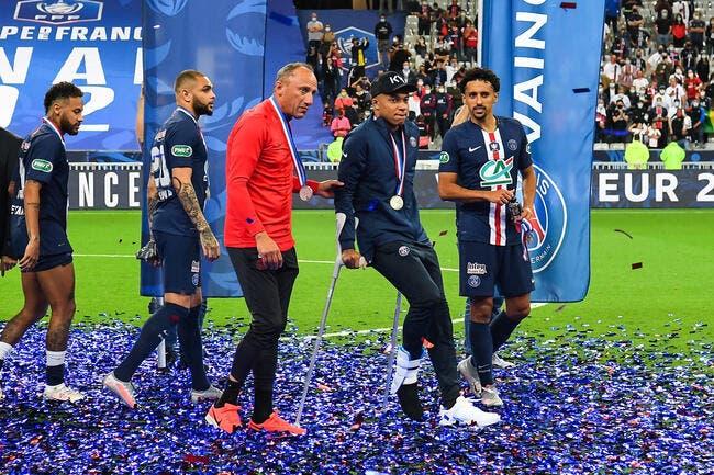 PSG : Kylian Mbappé calme la rage contre Perrin et l'ASSE
