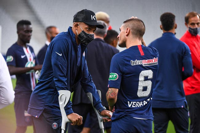 PSG : Kylian Mbappé absent contre l'OL et l'Atalanta ?
