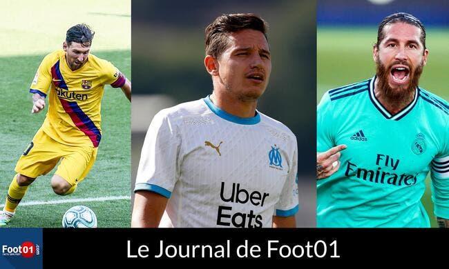 Foot01 News : THAUVIN sur le départ, MESSI à l'Inter, Madrid et l'après-RAMOS