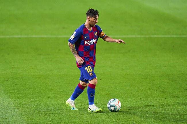 Mercato : 260 ME, l'Inter prépare son offre pour Lionel Messi