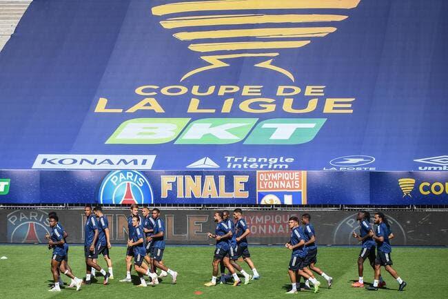 CdL : PSG - OL : les compos (21h10 sur France 2)