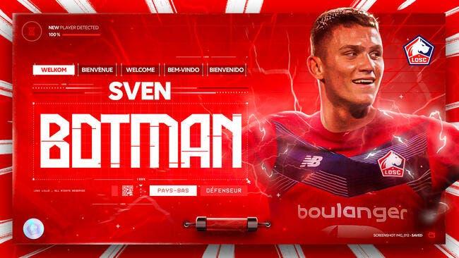 Officiel : Sven Botman signe 5 ans à Lille
