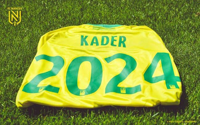 Officiel : Kader Bamba prolonge au FC Nantes