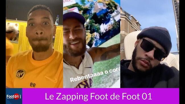 WTF : Cabella et Neymar au micro, Cornet humilié à la pétanque