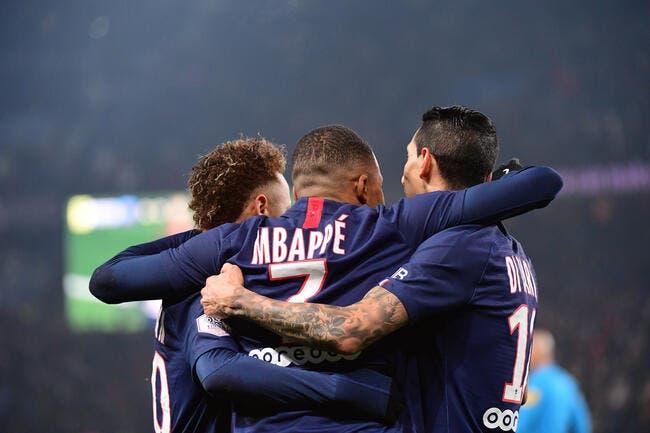 PSG : Di Maria se met minable, Neymar et Mbappé le valent bien