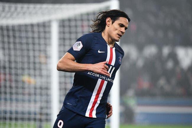 PSG: Concentré sur Paris, Cavani recale tout le monde