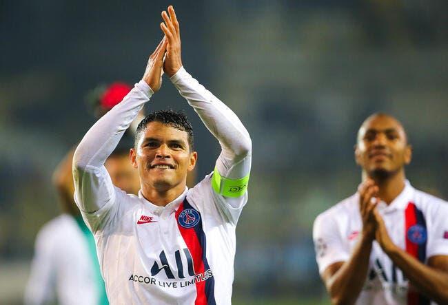 PSG : Thiago Silva c'est fini, Leonardo l'a prévenu !